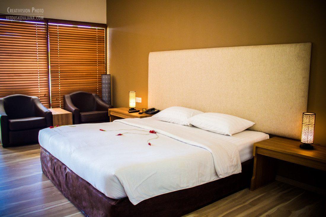 bedroom at Eriyadu island resort