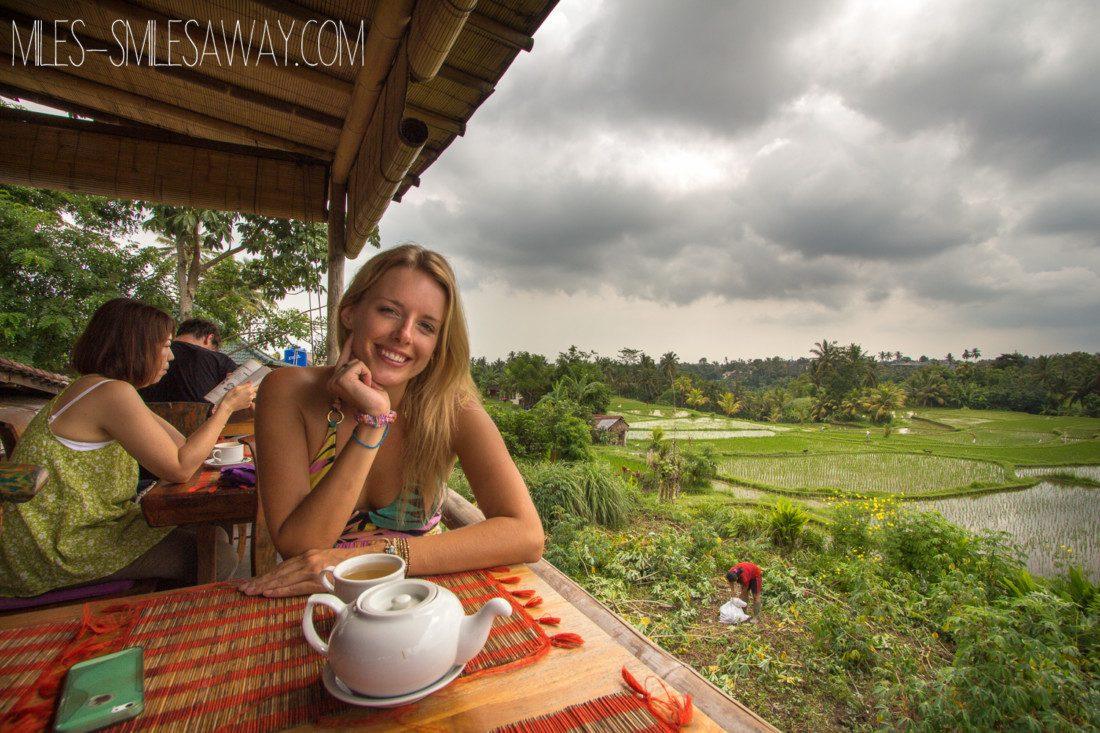 Sari Organic restaurant in Ubud Bali
