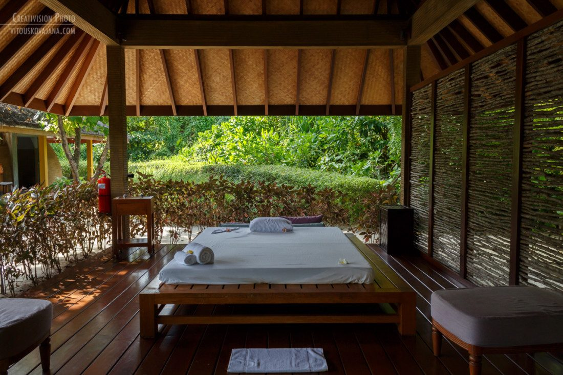 Ayurveda spa at Four Seasons Landaa Giraavaru