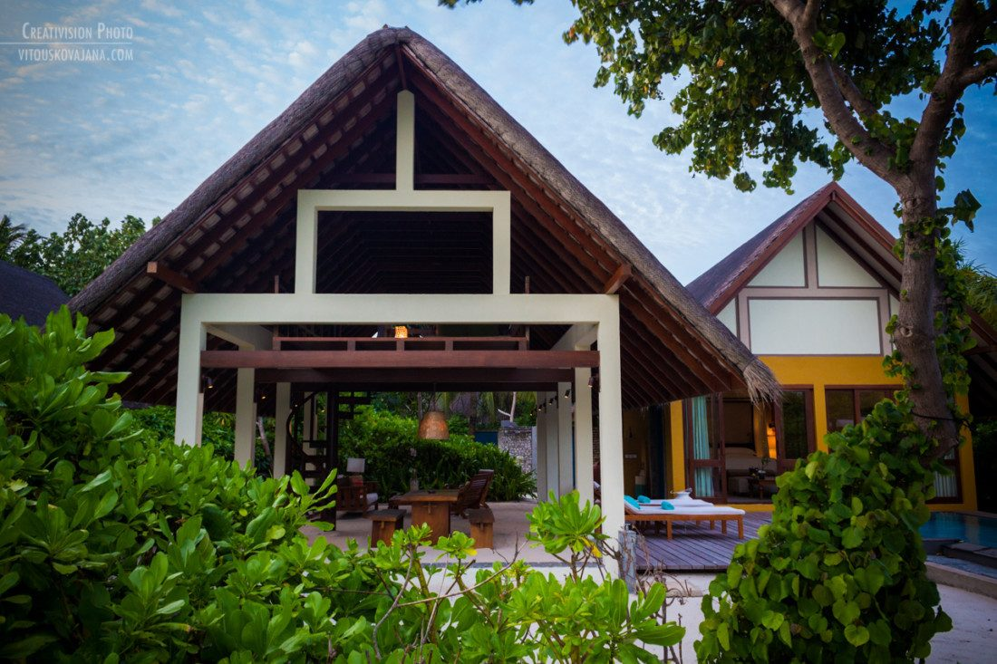 beach villa at Four Seasons Landaa Giraavaru