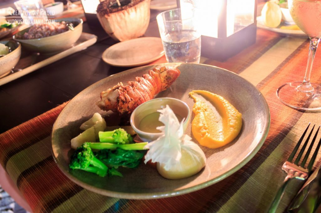 grilled lobster One&Only Reethi Rah