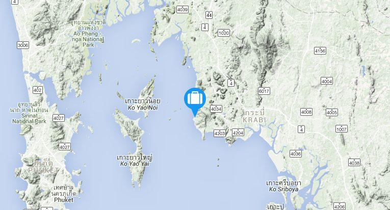 map krabi