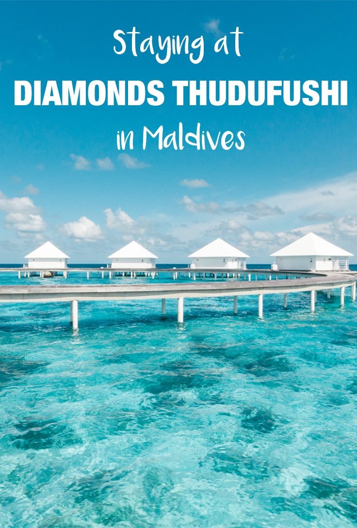 Diamonds Thudufushi resort in Maldives