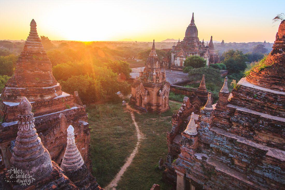 myanmar sunrise