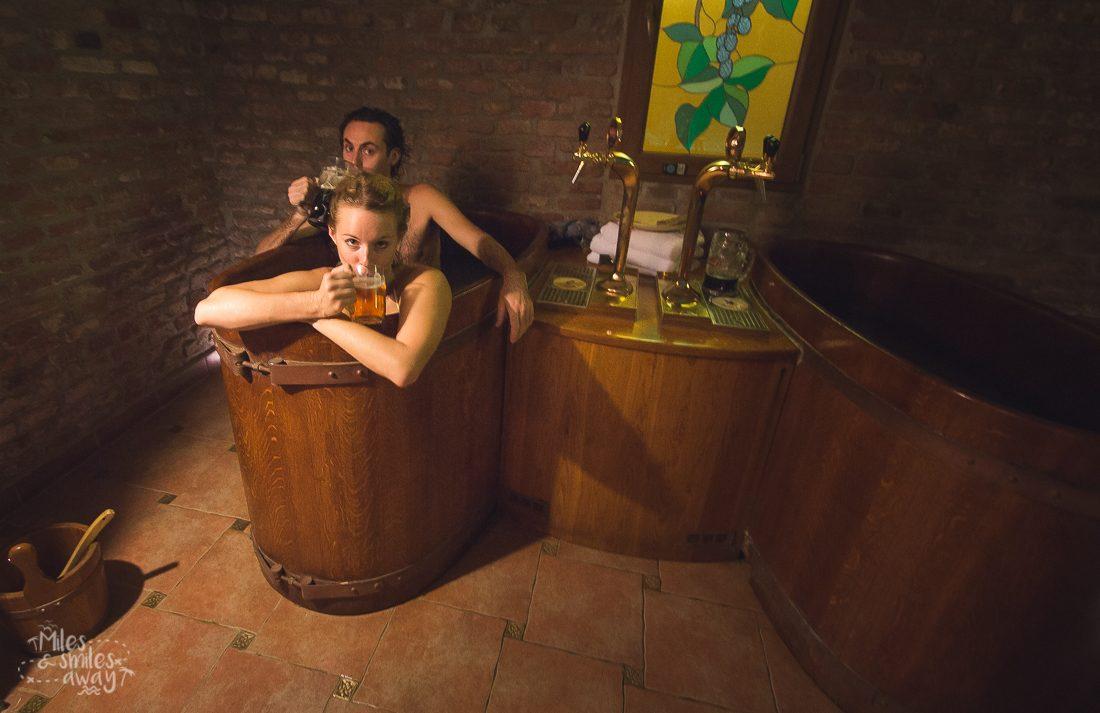 beer spa in prague