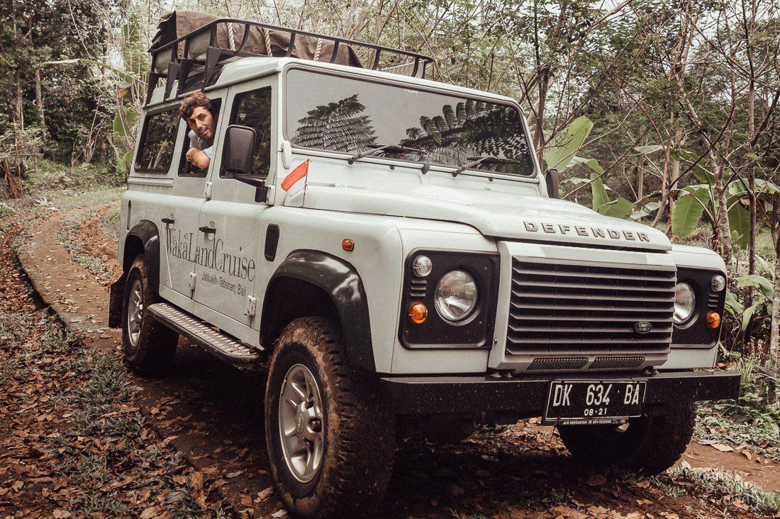 výlet po Bali s WakaLandCruise