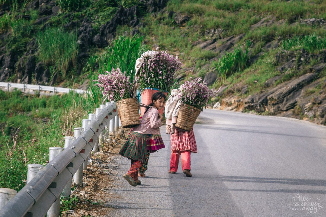 Ha Giang cestopis Vietnam