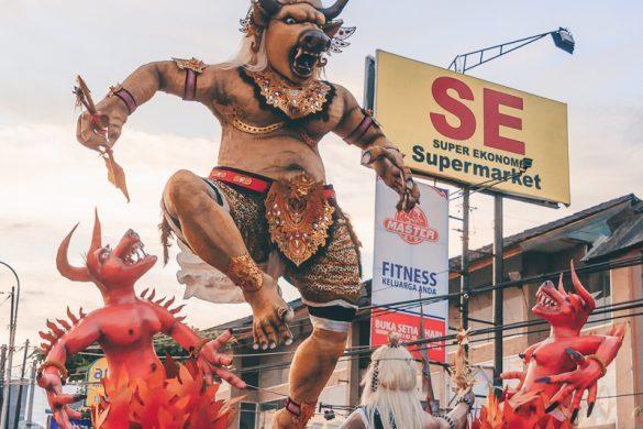 Bali Nyepi evil spritis demons