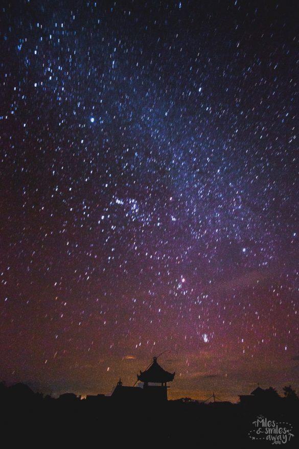 Bali Nyepi hvězdy