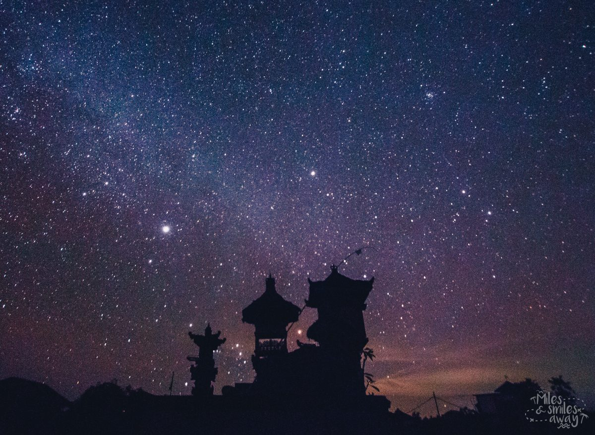 Bali Nyepi stars