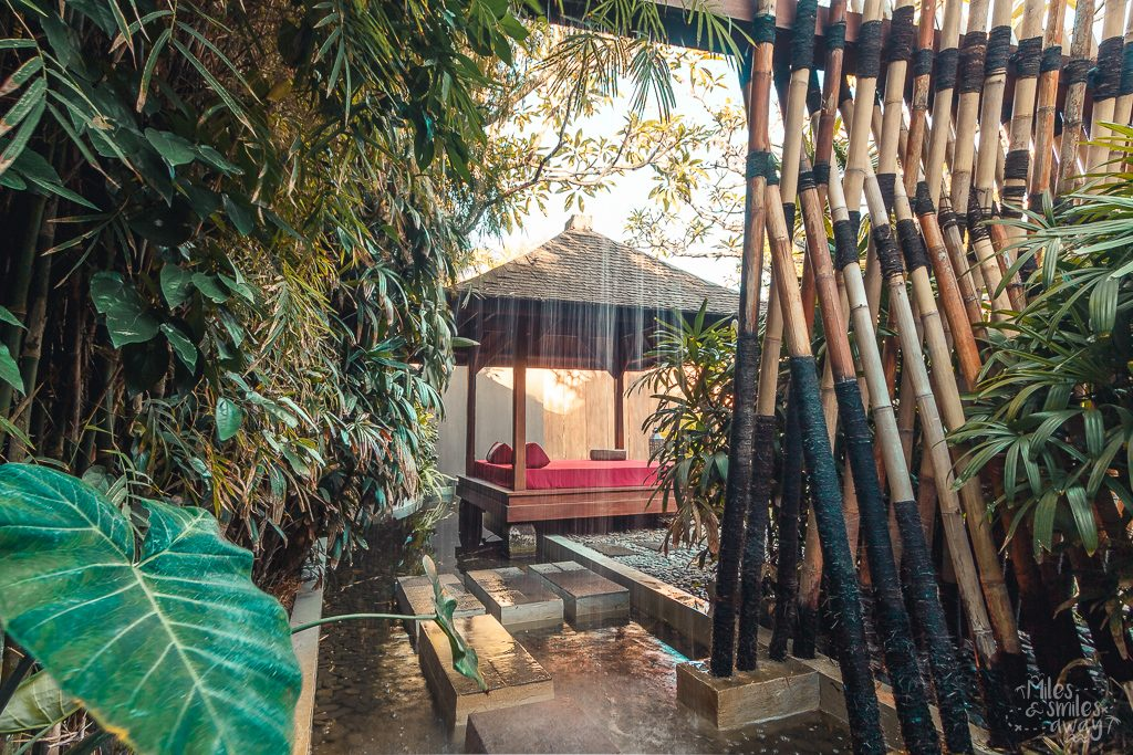Bed lounge at Jamahal Private Resort & Spa in Bali