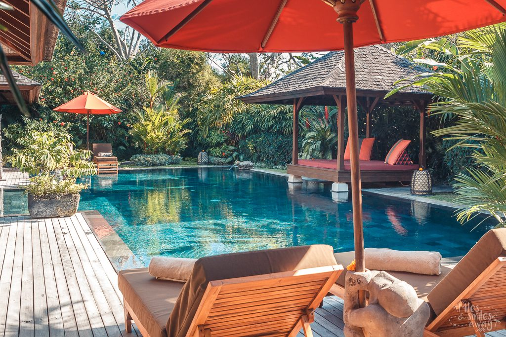 Pool area at Jamahal Private Resort & Spa in Bali