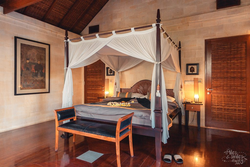 Bedroom at Jamahal Private Resort & Spa in Bali