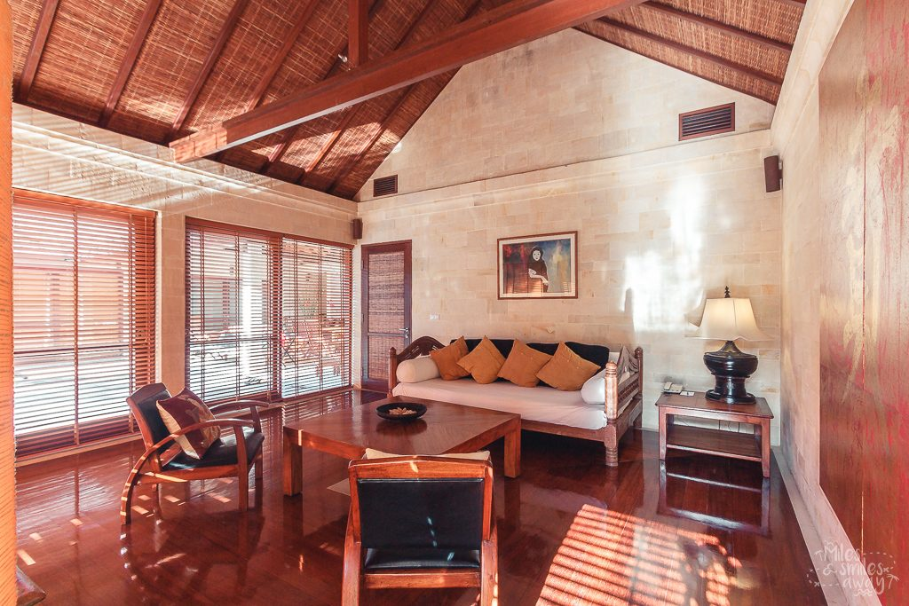 Living room at Jamahal Private Resort & Spa in Bali