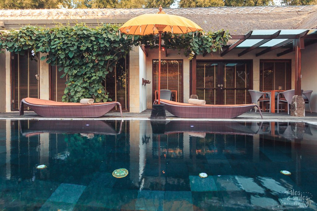 Pool at Jamahal Private Resort & Spa in Bali