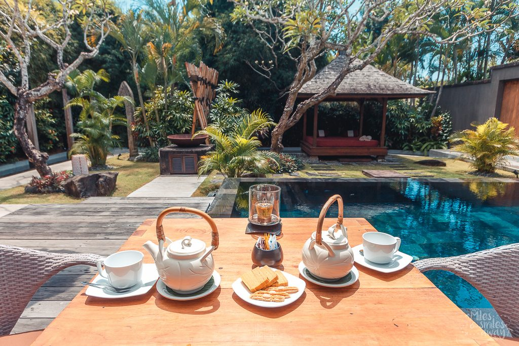 breakfast jamahal private resort & spa in Bali