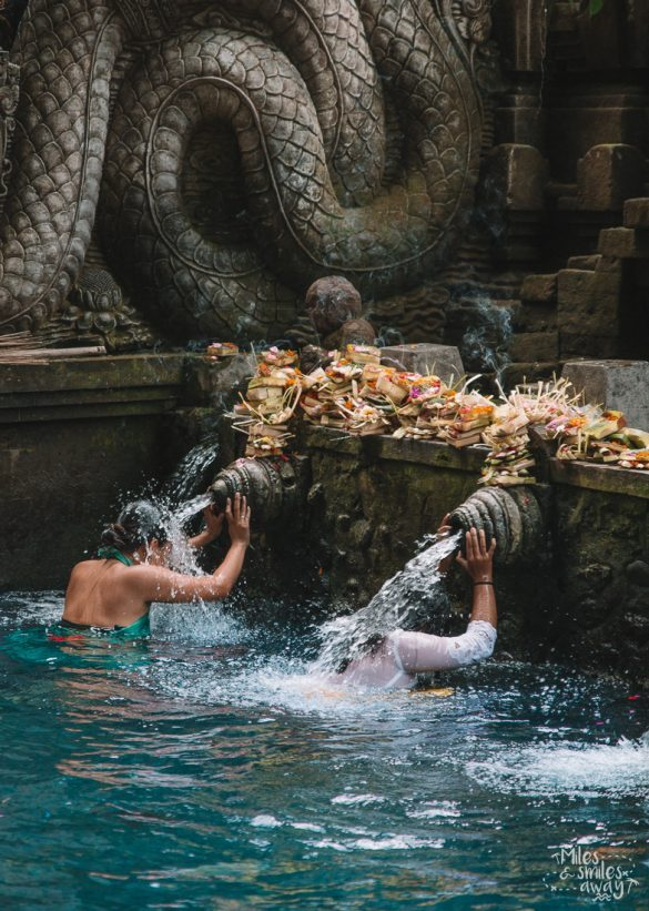 Tirta Empul temple in Indonesia