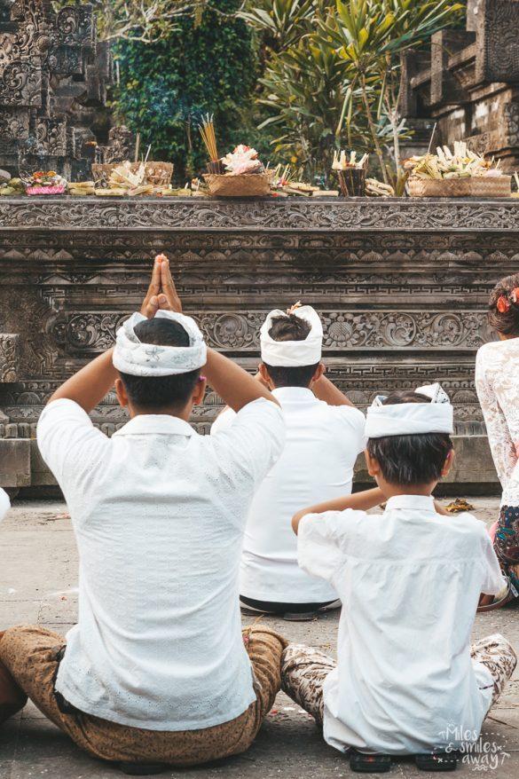 Tirta Empul Temple in Bali Indonesia