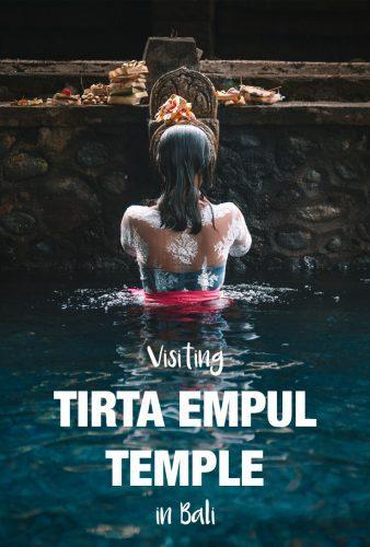 Tirta Empul temple in Bali in Indonesia