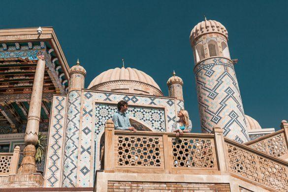 samarkand hazrat hizr uzbekistan