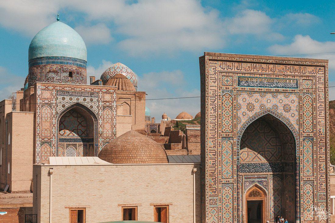 samarkand shah i zinda uzbekistan old building