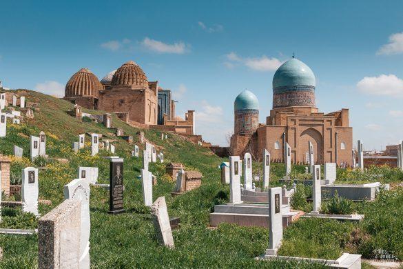hřbitov Shah i Zinda